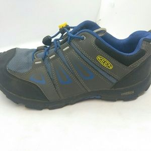 Keen Boys Oakridge Low Hiking Shoes Sz 5